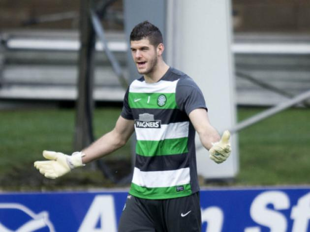 Celtics Forster closes in on Scottish shut-out record