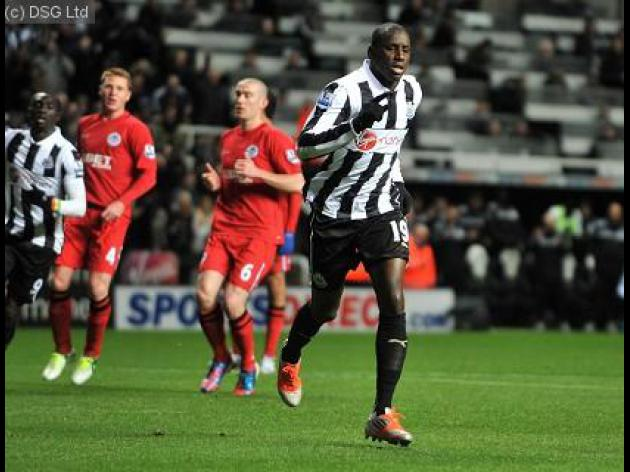 Arsenal linked with Newcastle star Demba Ba