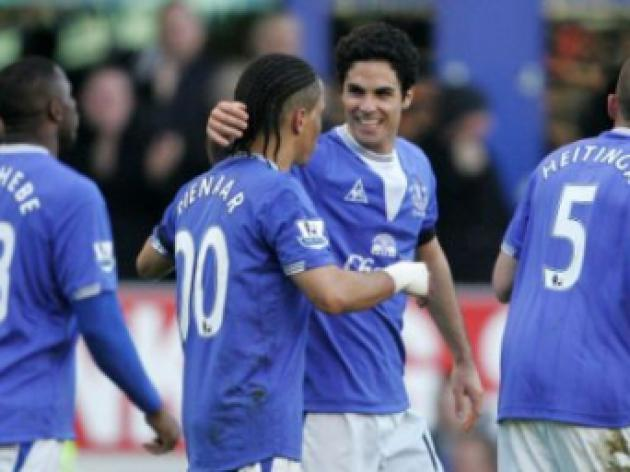 Everton 5 Hull 1: Artist Arteta steals the show as Toffees trounce the Tigers
