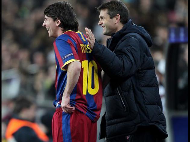 Vilanova talks up Messi display