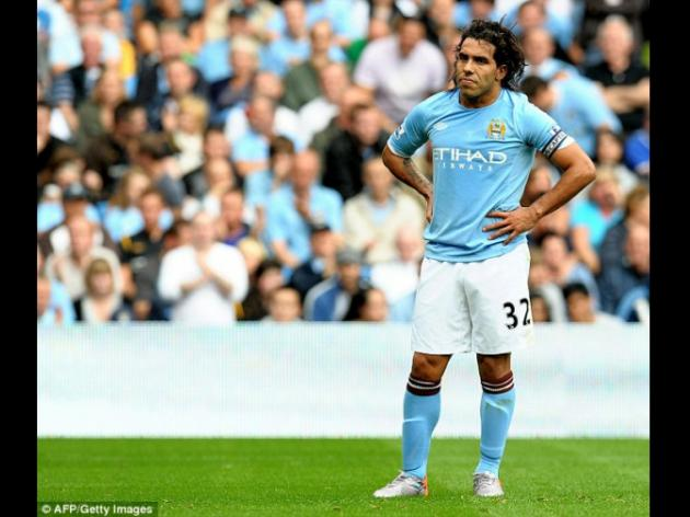 What will he cook up net? Manchester City striker Carlos Tevez in yet another transfer mystery
