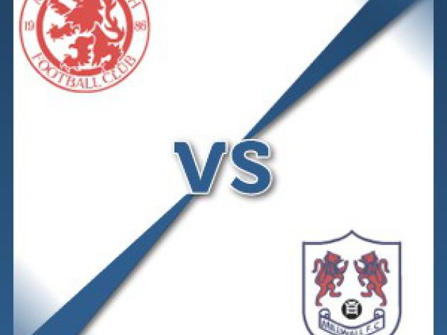 Middlesbrough V Millwall at Riverside Stadium : Match Preview