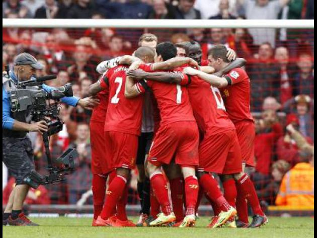Gerrard joy as Liverpool edge City in thriller