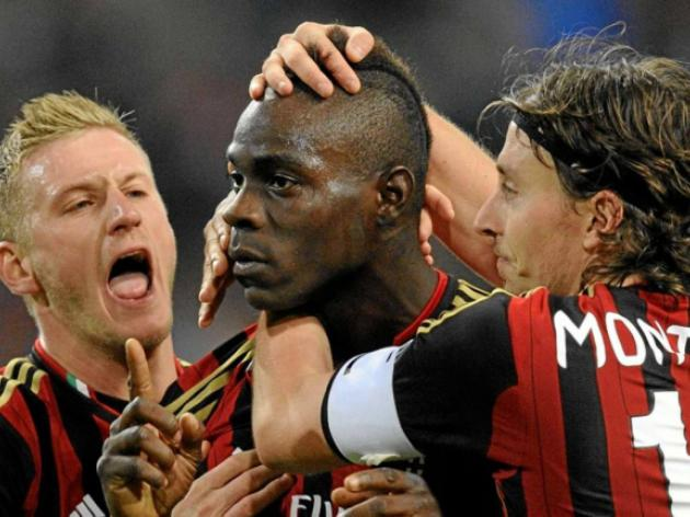 Balotelli, Kaka strike as Milan beat Chievo