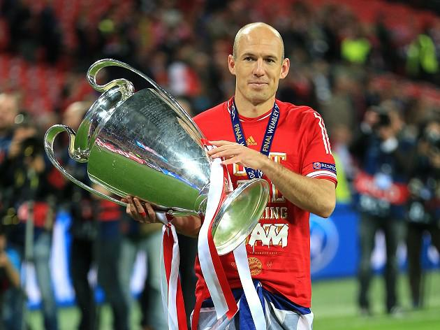 Robben aiming for treble