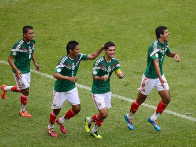 Resurgent Mexico wont ease up on New Zealand