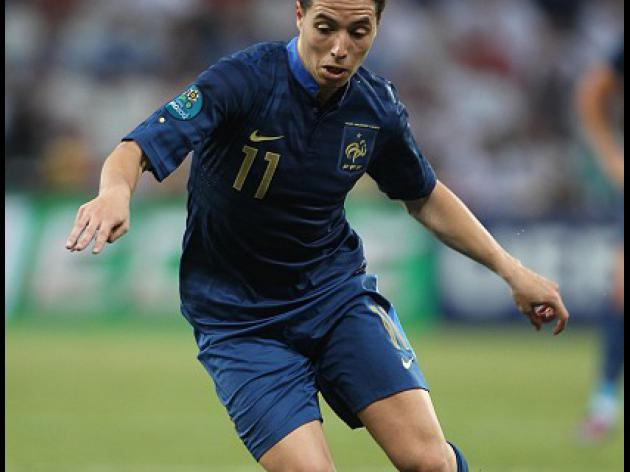Nasri regrets Euro conduct