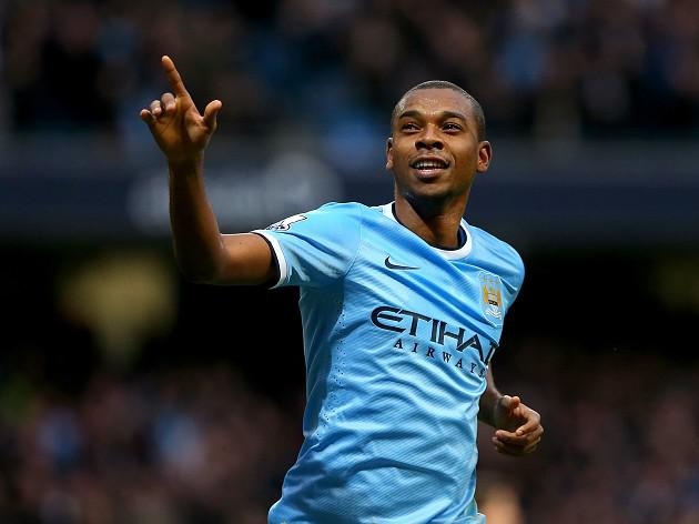 Fernandinho has high hopes for City and Brazil in 2014