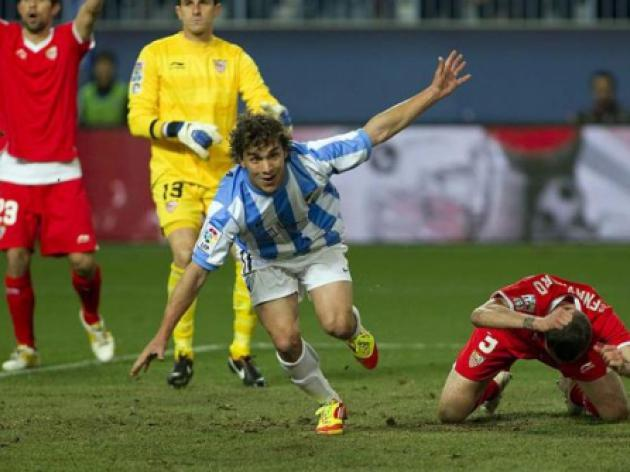 Malaga take honours in Andalusian derby