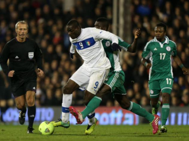 Friendly result - Italy 2 Nigeria 2