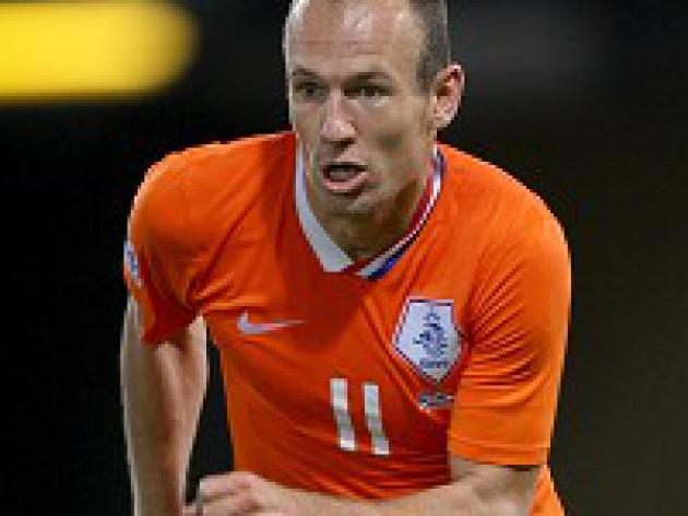 Robben ready to rock Brazil