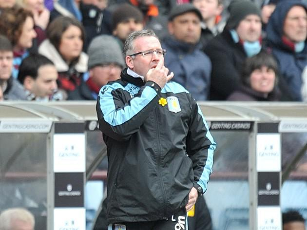 Aston Villa manager Paul Lambert expects survival