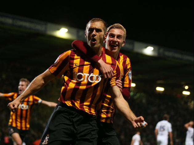 Bradford's FA Cup giant killers dominate Feb League One PFA Fans' Player of the Month contenders