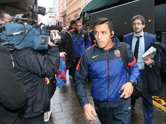 Man United Eyeing Barcelona's Alexis Sanchez?