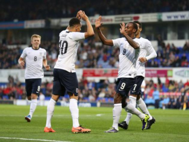 England boss Roy Hodgson has a new 'golden generation' at his finger tips