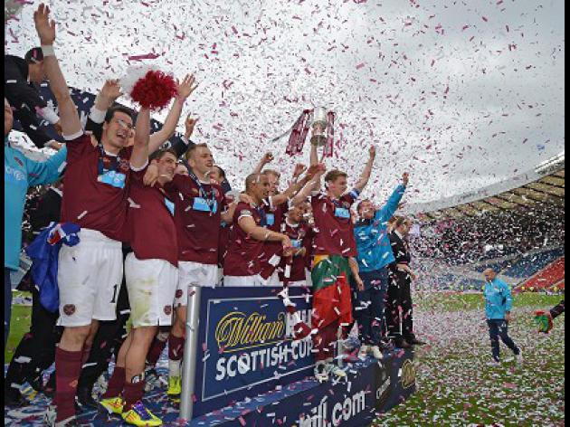 Hearts driven by fear of Hibs celebrations