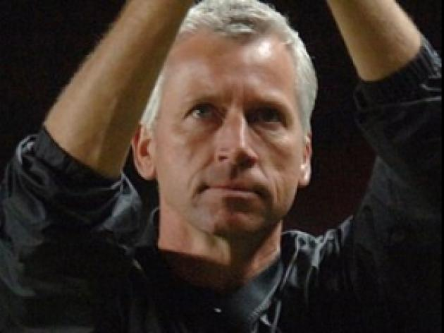 Pardew: Saints will never give in