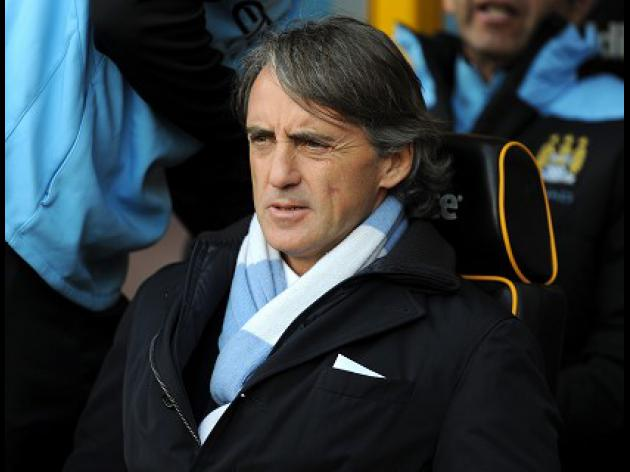 Derby win not enough - Mancini