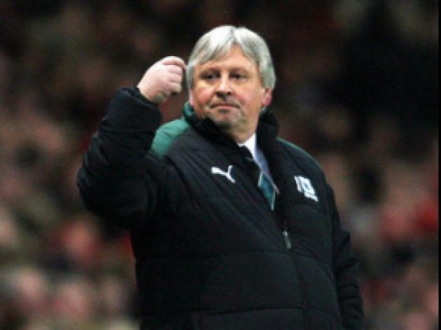 Sturrock ready for 'difficult' trip