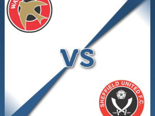 Walsall V Sheffield United - Follow LIVE text commentary