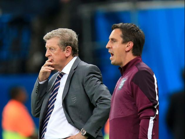Neville: England can't copy Germany