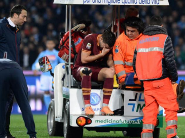 Strootman facing keyhole surgery: Roma