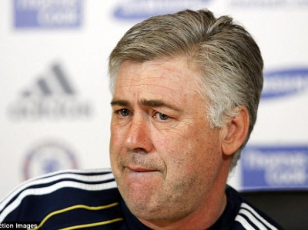 I'm a lucky man! Chelsea manager Carlo Ancelotti admits he could have been sacked after dismal run