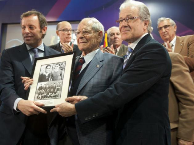 Former Barcelona defender Josep Seguer dies at 90