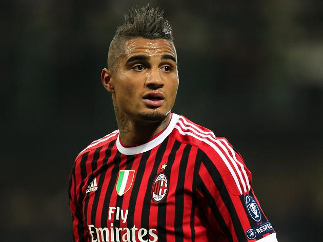 Italian FA back Boateng walk off