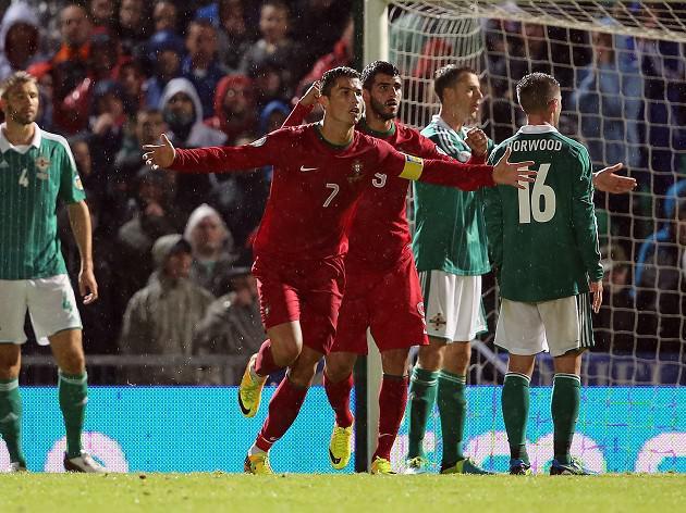 Ronaldo spares Portuguese blushes