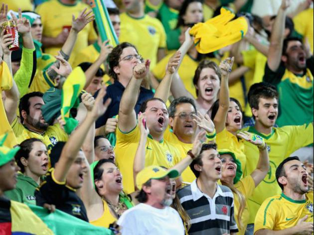 Brazil top favourites for World Cup win