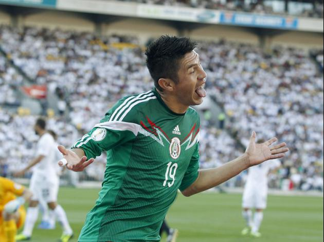 Peralta strike seals Mexico victory