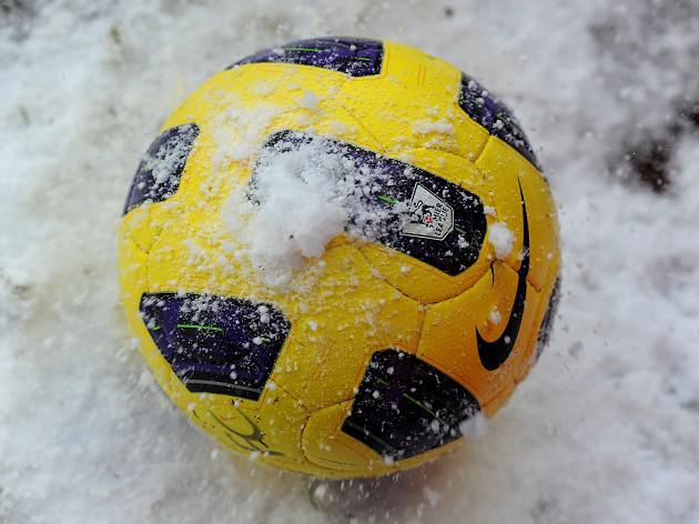 Wintry weather interrupts fixtures across the UK