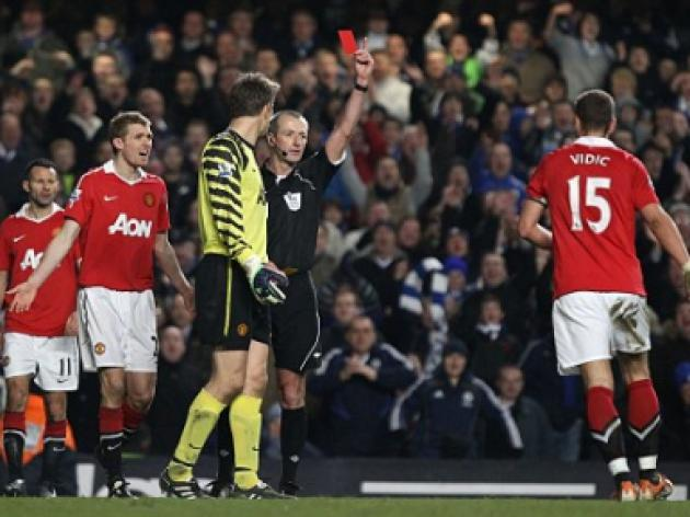 Martin Keown on Chelsea v Manchester United: You're a silly boy, Nemanja Vidic!