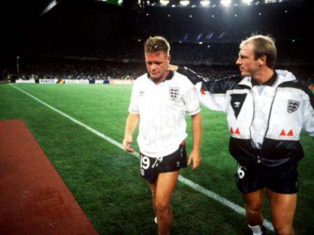 World Cup 2014 - 99 days to go: Gazza's tears