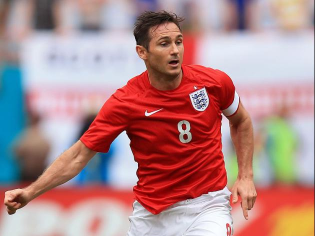 Lampard coy over England future
