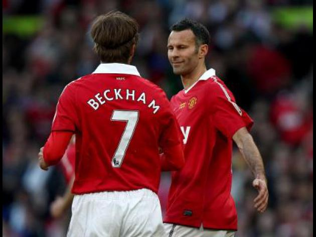 Beckham backs new Manchester United double act