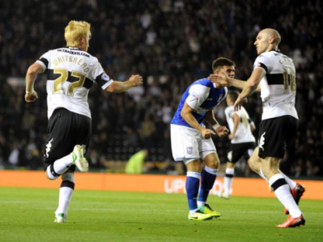 Derby 3-0 Sheff Wed: Match Report