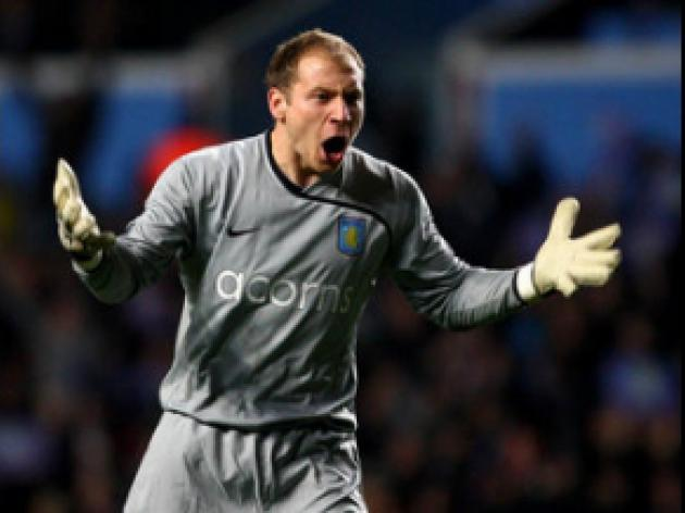 Guzan pleased with first year at Villa