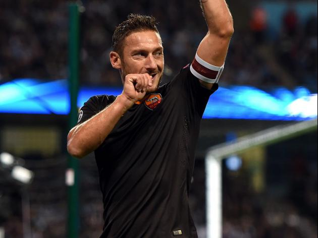 City's tweet inspired me - Totti