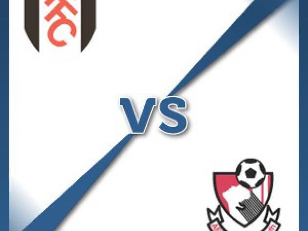 Fulham V Bournemouth at Craven Cottage : Match Preview