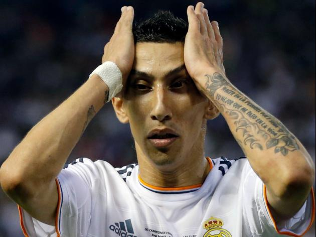 Manchester United target Di Maria excluded from Real squad
