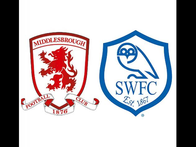 Match Preview: Middlesbrough v Sheffield Wednesday