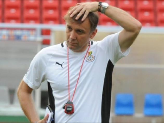 Ghana sack Serbian coach