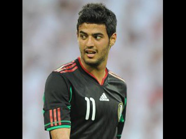 Vela returns for Mexico