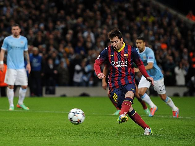 Barca too strong for 10-man City