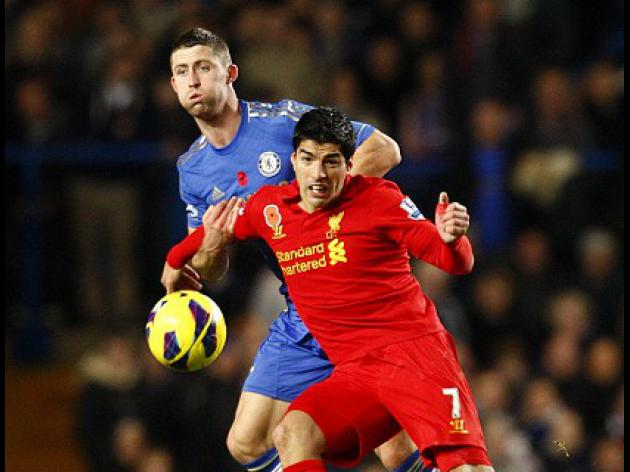 Suarez rescues Reds against Chelsea
