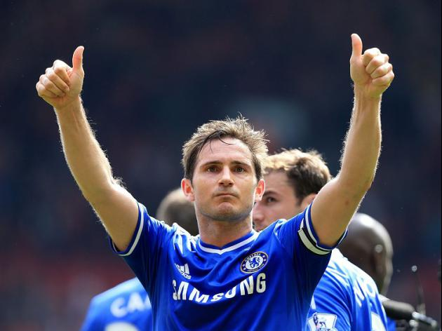 Blues pay tribute to Lampard