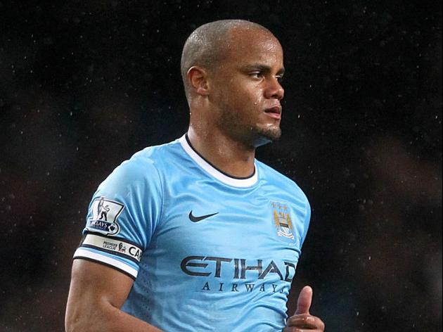 Kompany keeping cool under pressure
