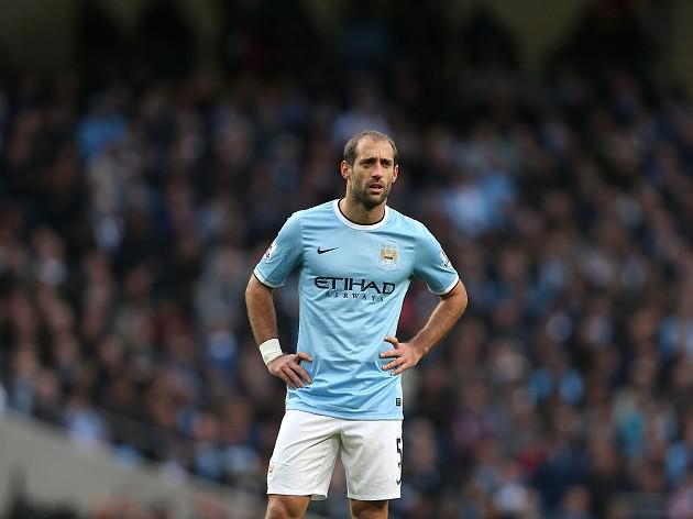 Zabaleta set to miss a fortnight